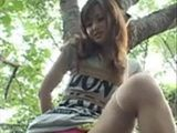 Naughty Asian Girl In The Forest