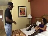 Cheating Wife Spread Legs Wide Open And Teasing Black Neighbor To Fuck Her Rough