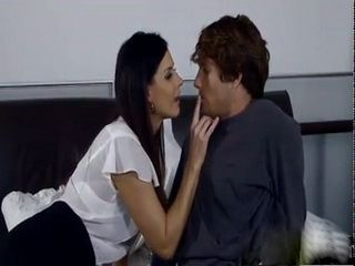 MILF With Small Tits Seduced Stepson