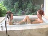 Sexy Lesbian Beauties In The Tub