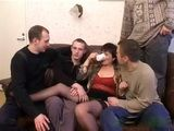 Dirty Boys Get Drunk Classmate's Mother And Roughly Wracked Her In Order To Revenge Him