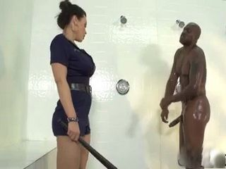 Busty Officer Fucked By A Prisoner