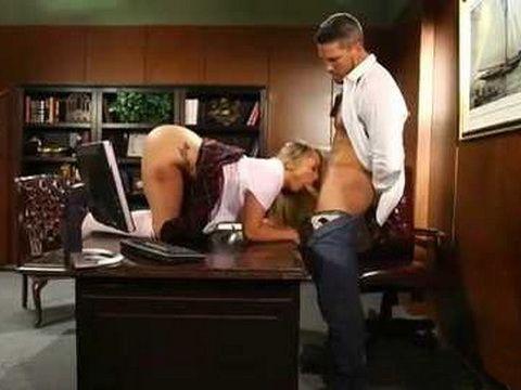 Sex In Exchange For Better Grade In Filthy Teacher's Office