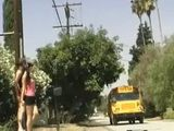 Teen Girl Enters In Wrong School Bus