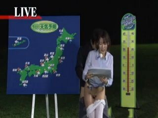 Japanese Weather Reporter Fucked During Live Programme