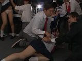 3 Schoolgirls Lured Into A Trap By Teacher And Classmates - Tsujii Yu Arimoto Sayo Konishi Marie
