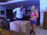 Unexpected Delivery Bring Big Surprise For Blonde MIlf