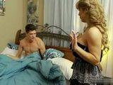 Busty MILF Aunt Wakes Up Husbands Nephew Strange Way