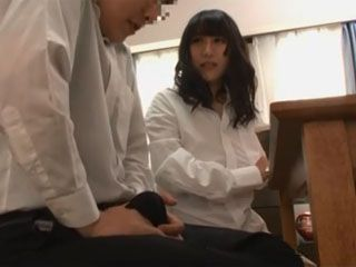 Student Boy Get Hard Erection On Private Milf Teacher Again