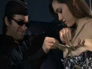Submissive Woman Was Bondage And Punished With Monster Black Cock