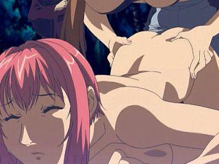 Anime shemale deep jerked and bareback fucked