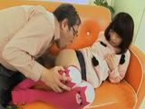 Old Fart has Bad Intentions To Cute Teen Girl Uncensored