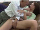 Housewife Maki Hojo Attacked And Fucked Against her Will By Old Father In Law