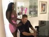Busty Black Beauty Interracial Sex With Piano Teacher