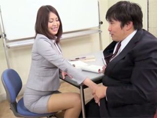 Staying On Additional Class In Evening School With Hot Big Titted Professor Totally Pays Off To Student