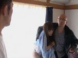 Pissed Old Man Take Out Teen Girl Kihana Rin From Boyfriends Apartment Seconds Before Get Fucked