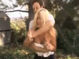 Gardener Revenge To His Boss By Fucking Anal His Busty MILF Wife