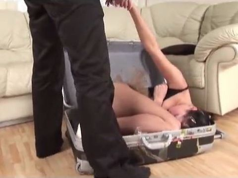 Drugged Sex Slave From Suitcase Anal Fucked In Every Pose