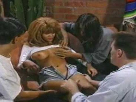 Hot Black Milf Loves Group Anal And Double Penetration