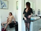 Embarrassing Moment When Gf's Mom Caught Me Jerking Surprisingly Ended Splendid Way