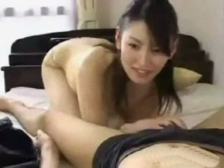 Asian Beauty Strips And Gets Fucked