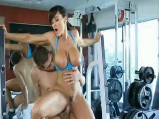 Hot Busty MILF Seduces Her Personal Trainer Into Fucking