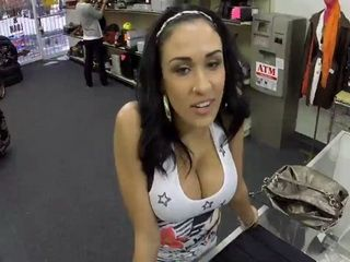 Big Titty Latina Tried To Tease And Give a Hard Time But Had To Fucks for Cash