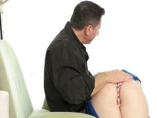 Naughty Teen Jessie Parker Spanked And Screwed Hard By Old Perv