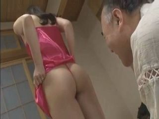Since Her hubby Wont Fuck Her First Wedding Night Newly Wify Came To Old Father In Law