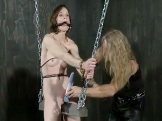 Orgasm In BDSM Room Of Pain