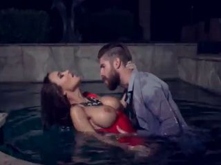 Hot Sandee Westgate drilled by the pool