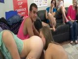 Orgy At the College Campus With Hot Girls