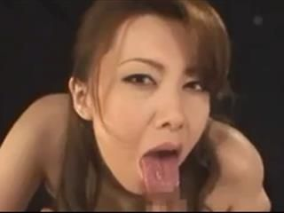 Japanese Slut Sucks Cock POV