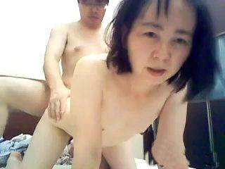 Japanese Couple Fuck Doggystyle On Webcam