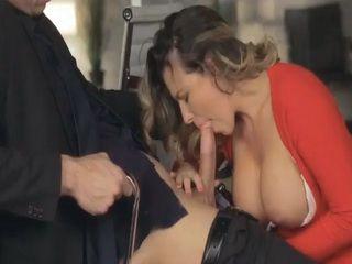 Stunning MILF Danica Dillon Pussy Ripped