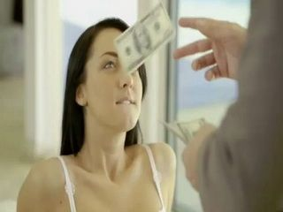 Few Dollars Extra Was Just Ehough To Convince Babysitter Into Anal