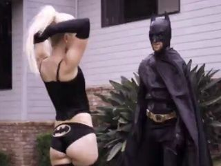 Batman Teaches A Lesson Disobedient Batgirl Aubrey Gold