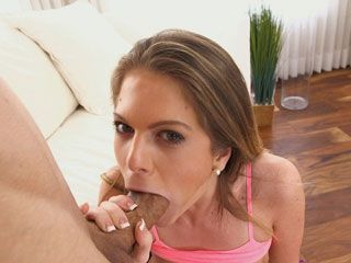 Skinny Stacey Levine nailed by big cock