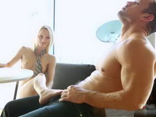 Handsome Dude Tempted Too Hard By Little Friends Sis