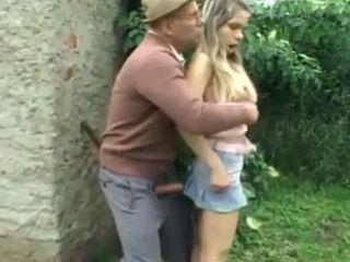 Perverted Grandpa Swooped My Teen Girlfriend In The Garden