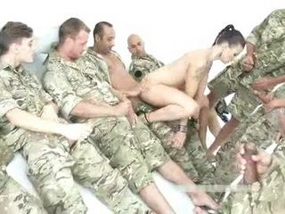 Group Of Marine Soldiers Finally Found Something To Fuck In War Zone
