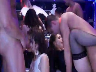 Party Sluts In Striptease Bar Cant Get Enough Of Cock