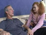 Old Pervert Took Advantage Over Sons Young Wife