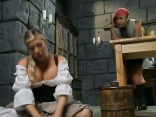 Beautiful Cinderella has to stand stepsisters bad mood