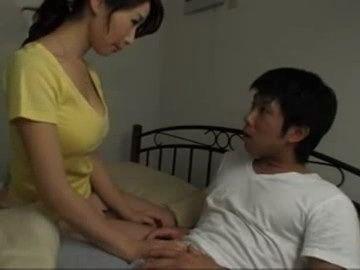 Caring Lovely Stepmother Ayumi Shinoda Makes Her Teenage Stepson Virgin Boy No More