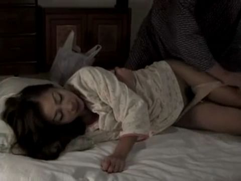 Sleeping Daughter In Law Gets Mistreated Late at Night By Her Old Father In Law