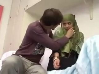Shy Hijab Muslima First Time At Porn Casting Shows Her Natural Talent