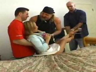 Humiliated Father Could Only Watch How Debt Collectors Anal Gang Bang His Little Princes For Revenge
