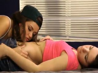 Allie Haze and Natalie Heart lesbo sex