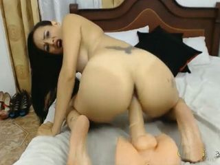 Nasty latina with tattoo wants you to fuck her pussy